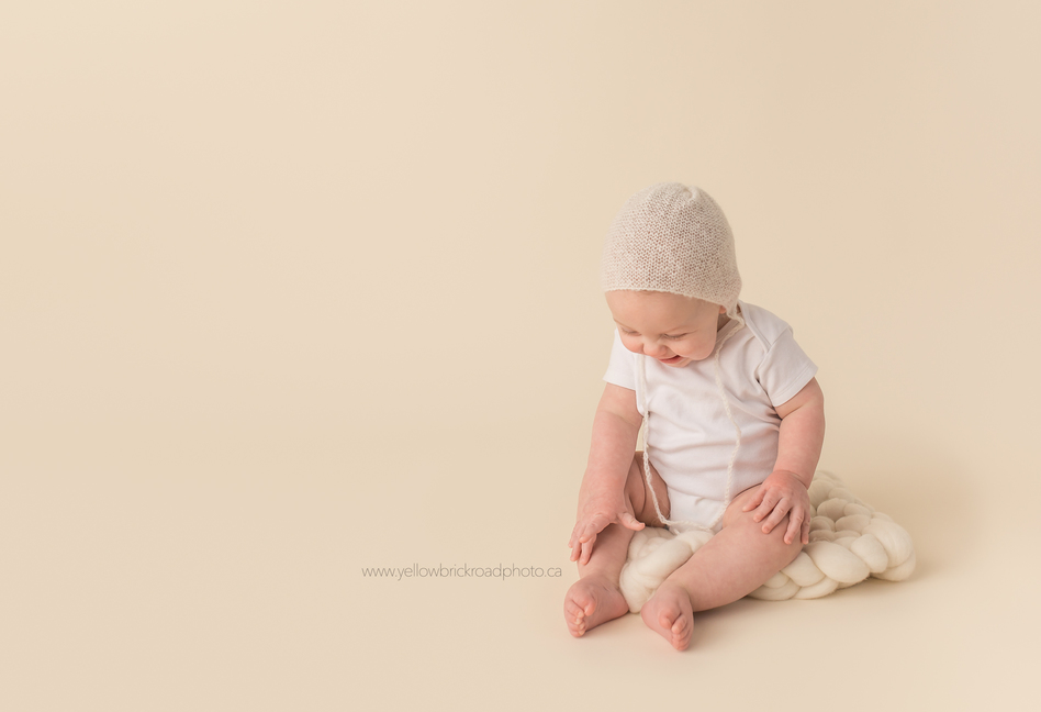 Guelph Baby Photographer Milestone session