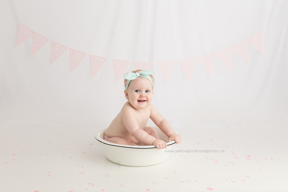 Guelph First Birthday Session Yellow Brick Road Photography