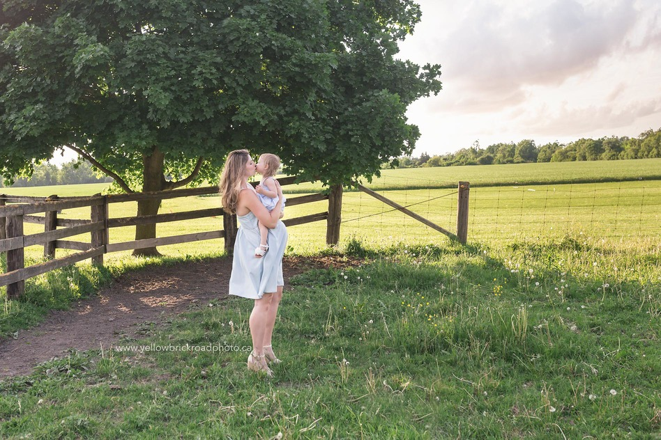 Farm Maternity, Guelph maternity session ON Yellow Brick Road Photography