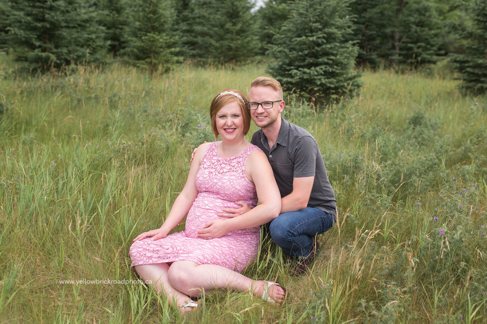 Maternity Portraits New Hamburg Yellow Brick Road Photography