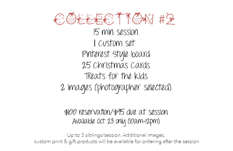 Guelph Child Photographer Christmas Sessions