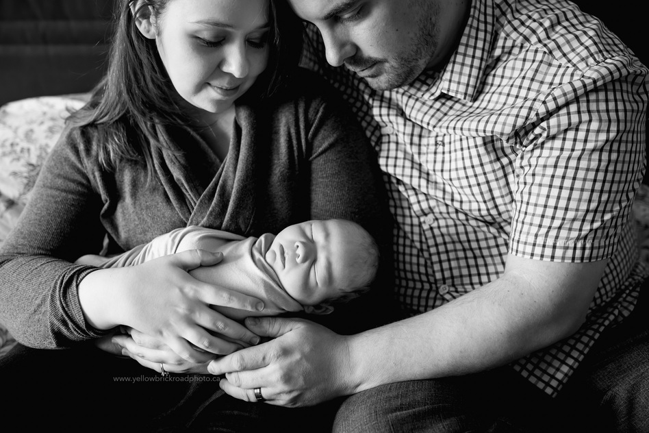 Caledon Newborn Photographer In home session