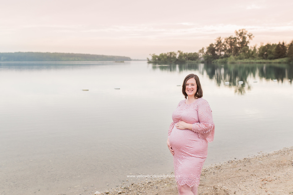 Guelph Maternity Photographer session at guelph lake
