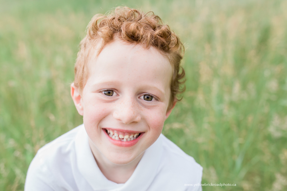 Family Photography Guelph Close up of lost tooth
