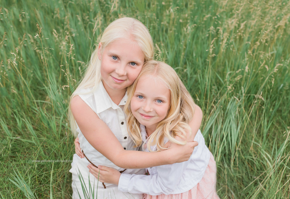 Family Photography Guelph Ontario Sisters portrait