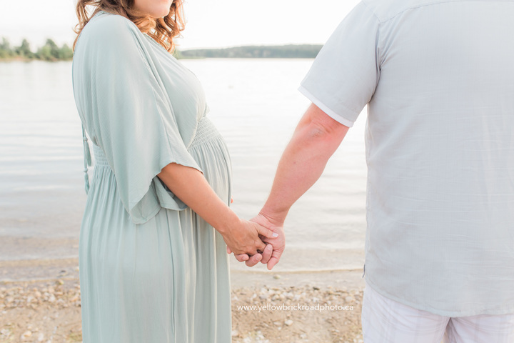 Sunset Maternity Photos Guelph ontario