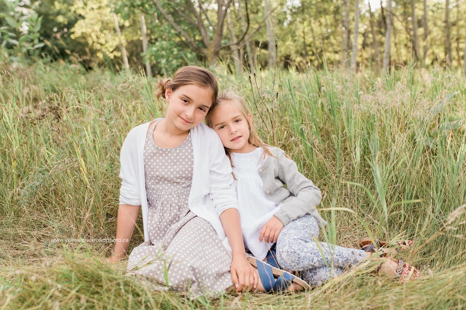 Guelph Family Session Sister portraits