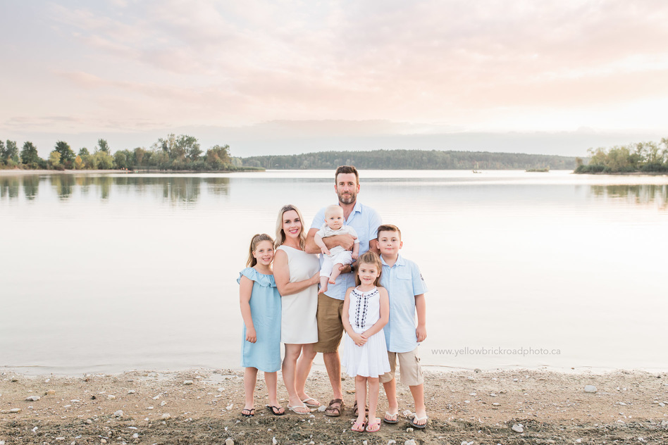 Lake Family Session Guelph Lake Yellow Brick Road Photography